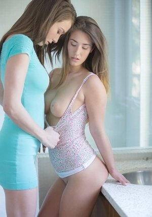 Every guy dreams to take part in gorgeous chapter of Malena Morgan and her female friend